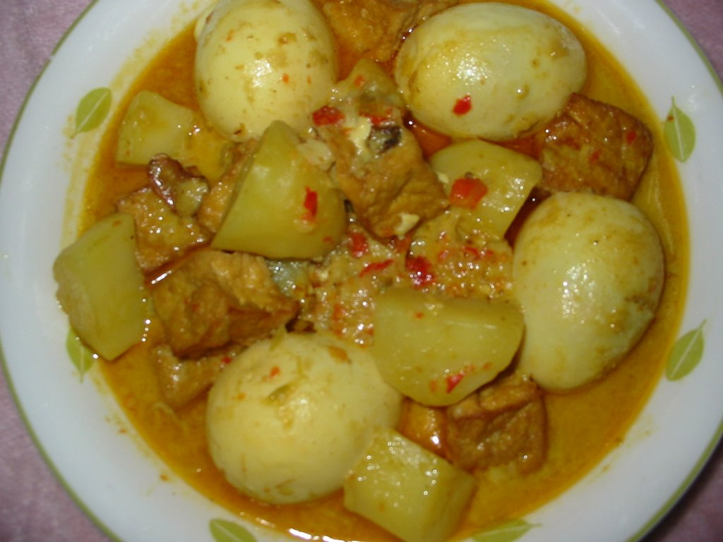 Resep Masakan Istimewa Opor Telur Tahu - Hari Libur Nasional